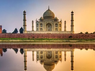 TAJ MAHAL, RED FORT ,