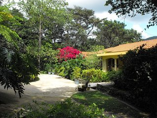 Hacienda Luis: a Lakefront Guest House in a 53-acre natural tropical forrest.