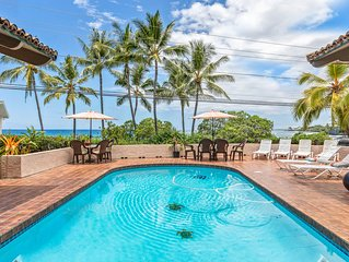 Gorgeous Ocean Front 5 Bedroom With Pool, AC, Game Room and Sleeps 14