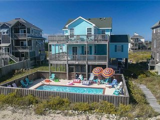 Look 'N Sea OCEANVIEW w/Htd Pool&HotTub, RecRoom, Pets