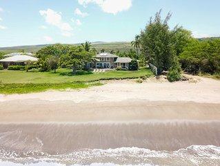 Fabulous 6 br for 15 private beachfront Estate!