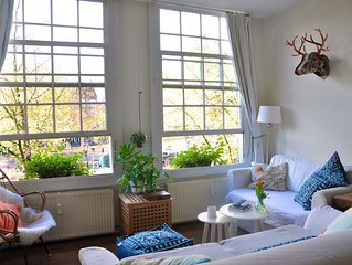 Jordaan,The Best Area To Stay In Amsterdam with a view of Prinsencanal