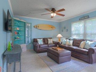 The Beach Retreat, 3 Beds, Walk to Beach, Shops & Pier, Beach Items Included