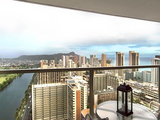 Lovely Waikiki condo w/ shared pool/hot tub/gym - close to beaches