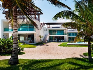 Beautiful Beach House at Yucatán, México