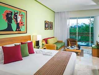 Vidanta Grand Mayan 1 BR 1 BA Suite With Kitchen Sleeps 6 - Cancun Riviera Maya