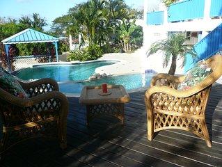Ridge Villa, Tobago. Ridge is a spacious 6 bedroom property near to the beach.
