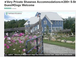 ★Denmark Stage Stop House★2 Separate Units★Sleeps 10★
