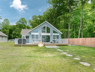 *NEW DEC 2018* Eagles Nest-Lkfront Priv Beach Dock Secluded-S Haven, Saugatuck