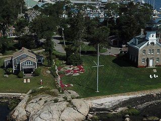 Exclusive Waterfront, Breathtaking views in Noank, near Mystic & Groton Long Pt