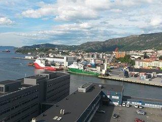 Entire apartment near Bergen center & University