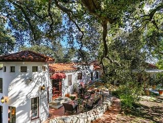 Fabulous Spanish revival sanctuary in the trees