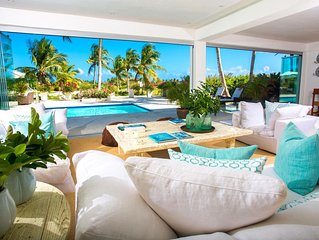Eden Roc Beach Club Access - Oceanview Luxury Villa - On Punta Espada, In-Home S