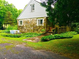 1950 s stone house on 14 acres in nestled n between New Paltz and Kingston NY