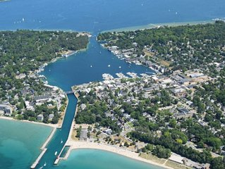 Classic Charlevoix Home Steps From Lake Michigan & 2 Blocks to Downtown