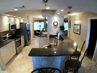 **Direct Oceanfront Ponce Inlet Towers Condo**Underground Garage Parking**