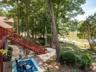 Lakefront oasis just minutes away from everything that Charlotte has to offer!