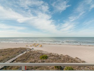 **BEACH FRONT CONDO**  OUTSTANDING LOCATION!! AND A BREATH-TAKING VIEW**