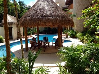 'royal Zamá' Tulum Luxury Vacation Rental New Condo, Only 5 Minutes to Beach!