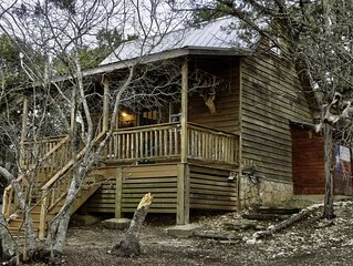 September Ridge Cabin 2,Texas Hill Country Rustic yet Chic Cabins-Stunning Views