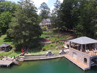 Large Lake Rabun Lakefront Home for Family Vacation or Executive Retreat