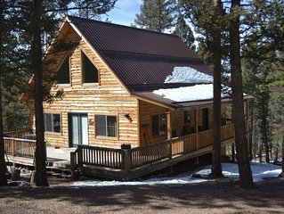 Rustic mountain cabin located near prime fishing, hunting and ATV trails.