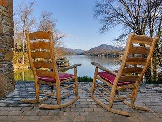 Large lakefront home. Swim, fish & kayak on Lake Lure