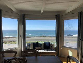 Unobstructed Ocean Views Steps from Carmet, Marshall Gulch, Schoolhouse Beaches