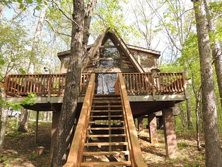 Treehouse Chalet- Modern, Family Friendly Chalet On Lake- Lots Of Amenities