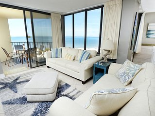 Renovated 2018, Ocean Front, Amazing Views, WiFi, King Bed- Largest Floorplan