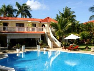 BEAUTIFUL 6 BEDROOM-ALL INCLUSIVE- LOW RATE VILLA