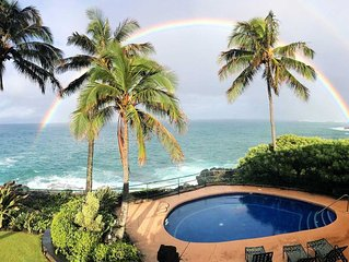 Unique Ocean Front Luxury, Private Pool, Fitness Club