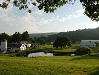 Historic Inn on a Spectacular 100 Acre Organic Farm with Lake and Private Pool
