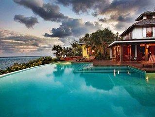Fuego Del Mar: Oceanfront Luxury Villa on Private Estate.