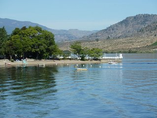 Quiet and Secluded Cabins on the Exclusive North Part of Osoyoos Lake