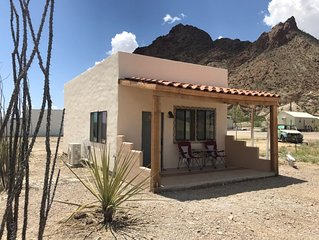 In town location, minutes from Big Bend National Park West Entrance