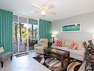 Sandpiper L05 Updated 2 BR Lanai Level Condo with Private Parking Garage!