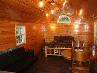 Vacation Rental Cabin, Keuka Lake Outlet-Trail, Wine Trail.  Brand New in 2016