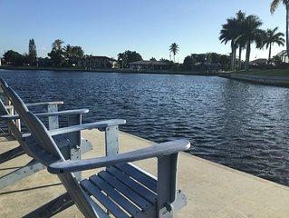 Waterfront Canal Home - Easy access to Gulf