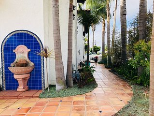 Unfurnished, Spanish style, gated, long term rental in Hermosa Beach