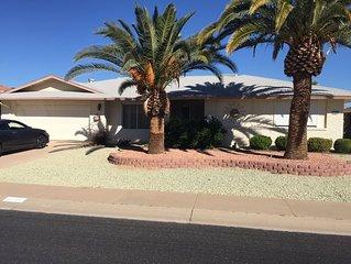 Beautiful 2 bedroom home in Sun City West Golf community