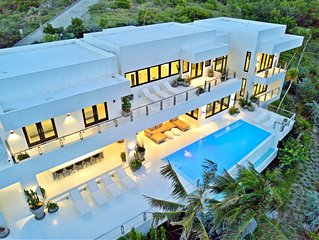 Ultimate Luxury villa Maison Blanche in Turtle beach . St Kitts