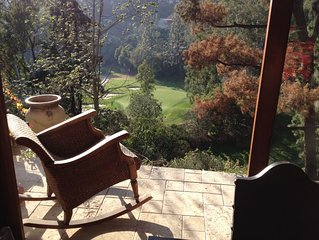 2 Bedroom Suite Rose Bowl area View of private Golf Course