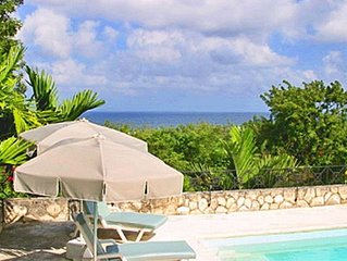 Gorgeous Ocean View,  Private Pool, Private Staff