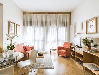 Downtown apartment for 4