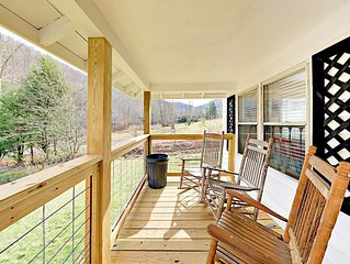 Newly Renovated Mountain Retreat w/ Front Porch, Back Deck & Outdoor Hammock