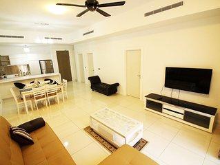 Luxury KLCC Muslim Family Home 2br2ba