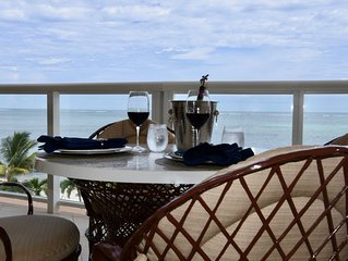 Wake up BEACHFRONT!!! NEW 2BR/2.5BA or 1BR/1.5BA 3rd Floor Condo at Grand Caribe
