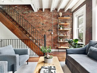 Beautiful Williamsburg Townhouse