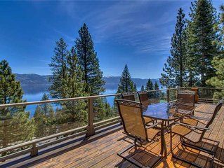 Crystal Bay Lakeview: Expansive Lake Views, Gourmet Kitchen and Many Amenities